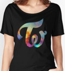 Twice Nebula Women's Relaxed Fit T-Shirt