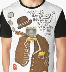 Stamp People Series (Winston Churchill) Graphic T-Shirt