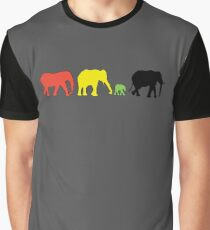 Rasta Eles Graphic T-Shirt