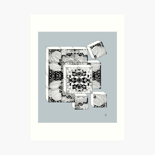 Die Würfel - Dice Kunstdruck