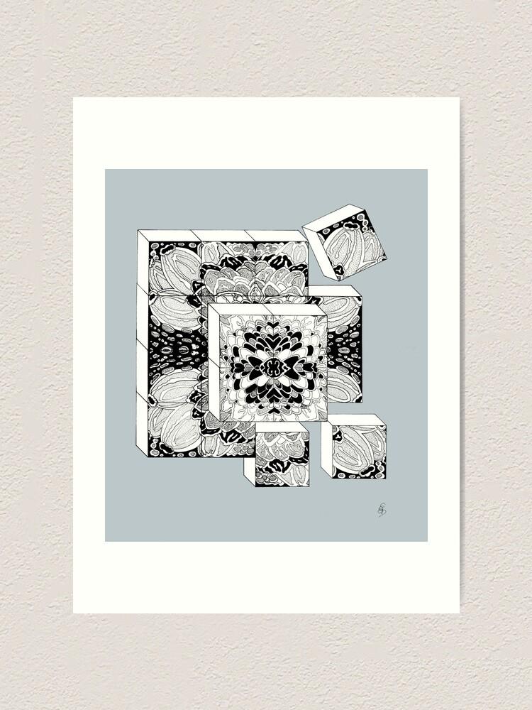 Alternative Ansicht von Die Würfel - Dice Kunstdruck