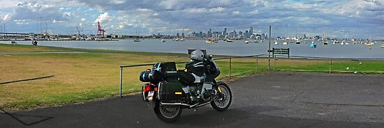 Melbourne Looking From Williamstown by Paul Gilbert