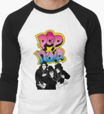 Pop Noir Wild Style Men's Baseball ¾ T-Shirt