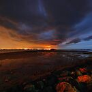 Coloured Storm - Wellington Point by Alan Gamble