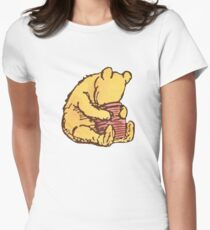Winnie the Pooh Womens Fitted T-Shirt