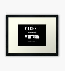 Robert Whittaker UFC Middleweight MMA Framed Print