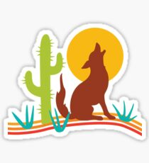 Southwest Coyote Sticker