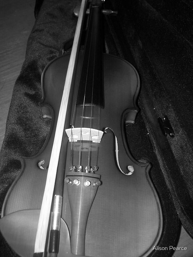 Violin by Alison Pearce