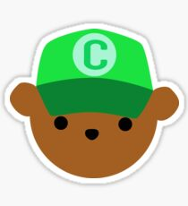 ABC Bear Letter C Sticker