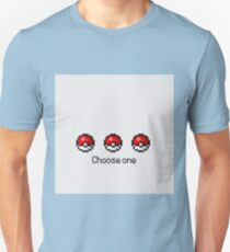 Pokeball Desing Choose One Unisex T-Shirt