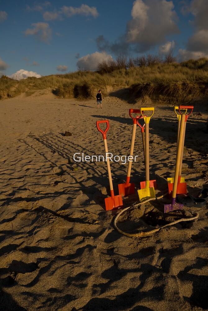 Sundown On Another Treasure Hunt by GlennRoger