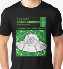 Space Cruiser Workshop Manual Unisex T-Shirt