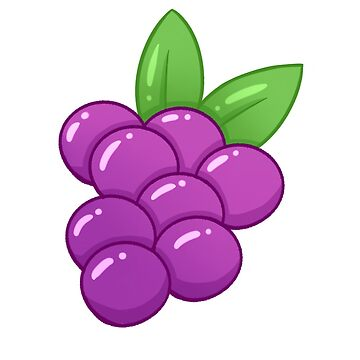 Cute Grapes (Tiled) by bijouglitch