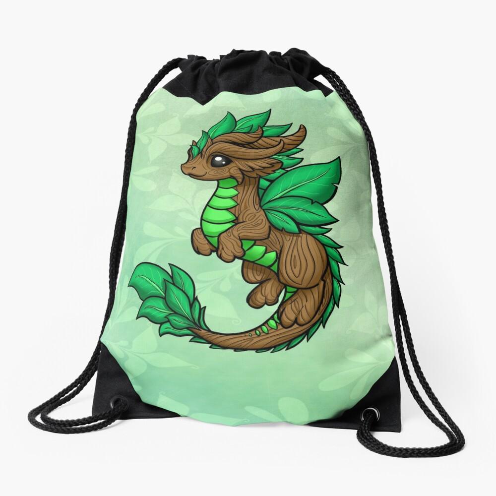 Earth Dragon Drawstring Bag