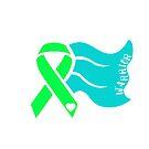 Awareness Ribbon Cape - Green by Nisa Katz