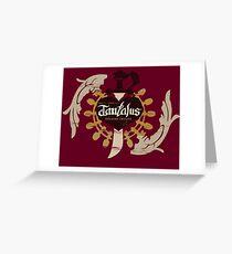 Final Fantasy IX - Tantalus Theatre Troupe Greeting Card
