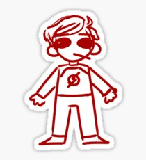 Small Dave Strider Sticker