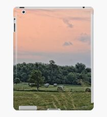 Morning Hay Field iPad Case/Skin