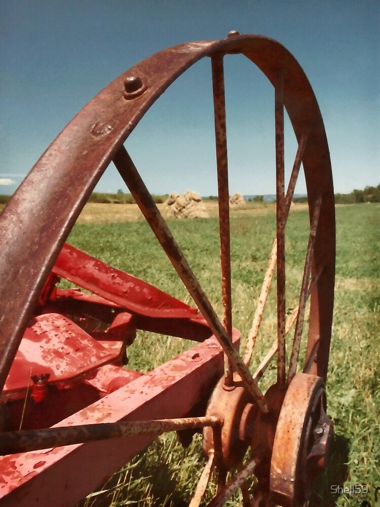 Tractor Wheel by Shell59