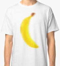 Fuzzy Blurry Big Bright Yellow BANANA  Classic T-Shirt