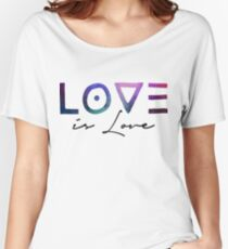 Love is love | That's it! Women's Relaxed Fit T-Shirt