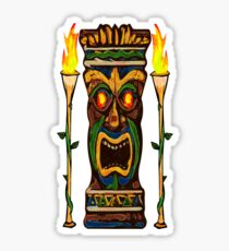 Torches, The Tiki Totem Sticker