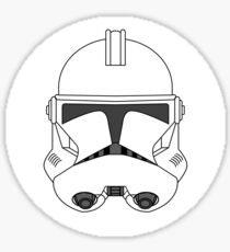 Clonetrooper Stickers Sticker
