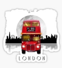 London Routemaster Bus by MotorManiac Sticker
