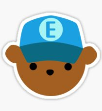 ABC Bear Letter E Sticker