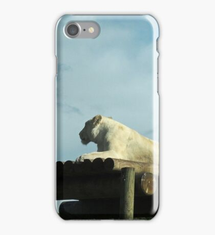 New Horizons: White Lioness iPhone Case/Skin