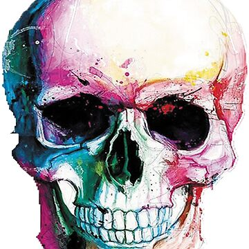 T-shirts colorful skull by ruansilva