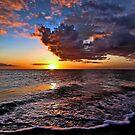 Venetian Sunset - Brouhard Beach, FL by T.J. Martin