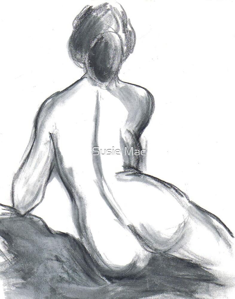 Female nude by Susie Mac