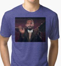 Shia Clapping Tri-blend T-Shirt