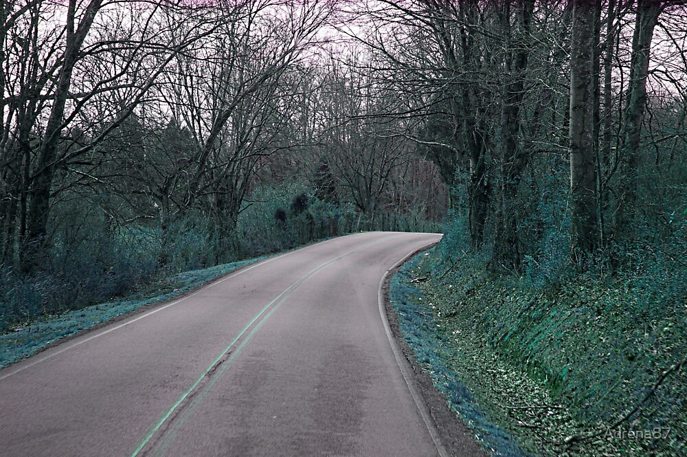 Winding Road Blue by Adrena87