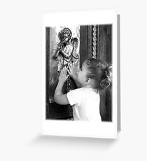 Discovering Angels Greeting Card