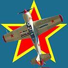 Red Star - Yakovlev Yak-52TW VH-YKK Design by muz2142