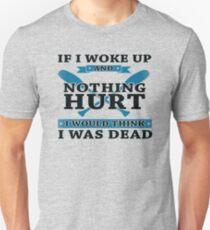 If I Woke Up And Nothing Hurt - Rowing T-Shirt