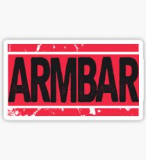 Arm Bar Tee Sticker