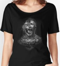 Conor Like A Angry Tiger Boy Women's Relaxed Fit T-Shirt