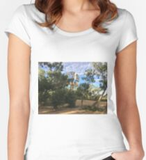 Old Cork Camp, Qld Women's Fitted Scoop T-Shirt