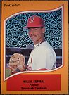 295 - Willie Espinal by Foob's Baseball Cards