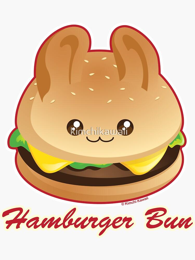 Punny Buns: Cute Hamburger Bunny by kimchikawaii