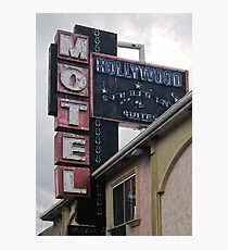 Hollywood Motel Photographic Print