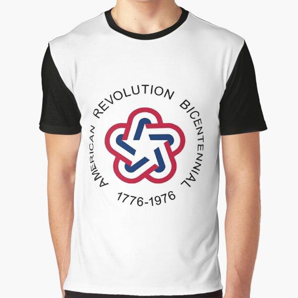 American Revolution Bicentennial Graphic T-Shirt