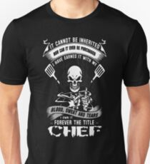 Chef swedish chef Chef chef skull and cleavers m T-Shirt  Unisex T-Shirt