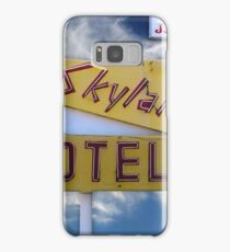 Skylark Motel Vintage Sign Samsung Galaxy Case/Skin