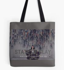 State Of Slay Rakes With Font Tote Bag