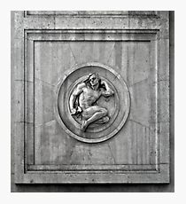 Classic Art from Milan Train Station Photographic Print