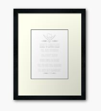 Chef chef grillmaster chef little chef chef (mal T-Shirt  Framed Print